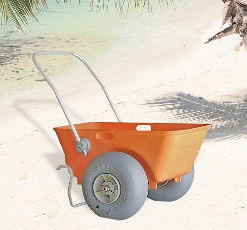 Heavy Duty Beach Wheeleez Cart review