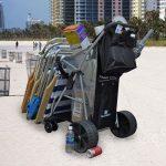 Wonder Wheeler Ultra-Wide Wheels Beach Cart review