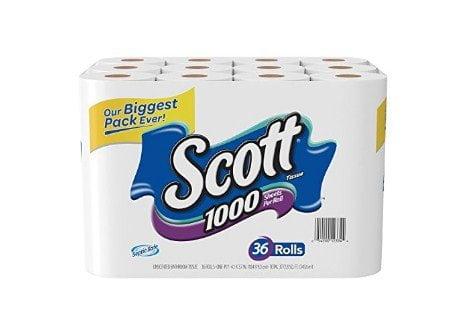 Scott 1000 Bath Tissue review