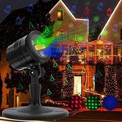 HappyHapi Laser Christmas Lights