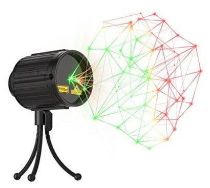 Laser Lights Christmas LED Projector Star Laser Shower