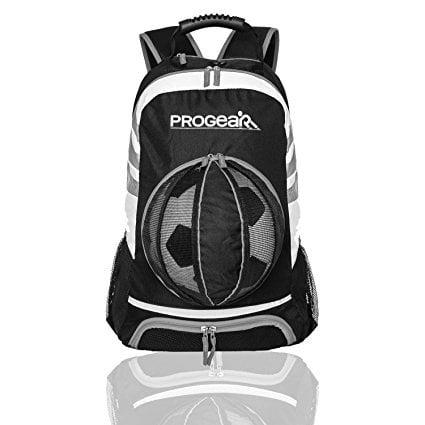 ProGear Soccer Backpack wBall Pocket