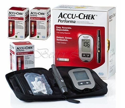 Accu Chek Performa Glucometer Kit