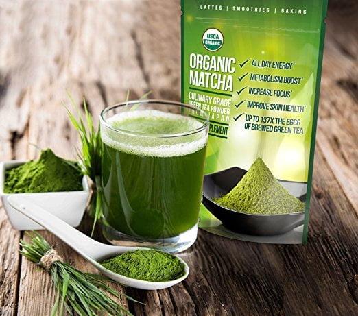 Matcha Green Tea Powder - Japanese Organic Culinary Grade Matcha
