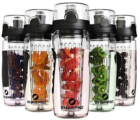 Sharpo 32oz Infuser Water Bottles