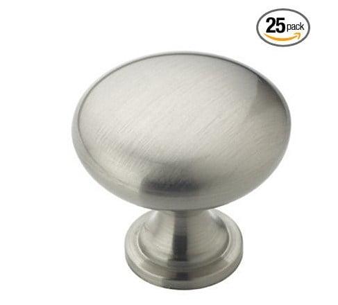 Amerock BP53005G10 Allison Value 1-1/4in(32mm) DIA Knob - Satin Nickel