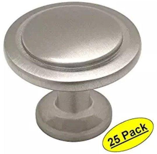 Cosmas 5560SN Satin Nickel Cabinet Hardware Round Knob