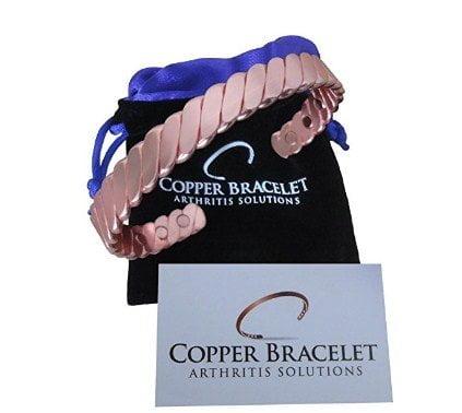 Twisted Copper Bracelet for Arthritis
