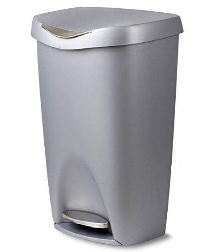 Umbra Brim Large Kitchen Step Trash Can