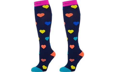 Fun Compression Socks for Women & Men + Crazy Funky Patterns