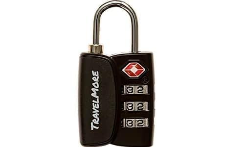 Open Alert Indicator TSA Approved 3 Digit Luggage Locks