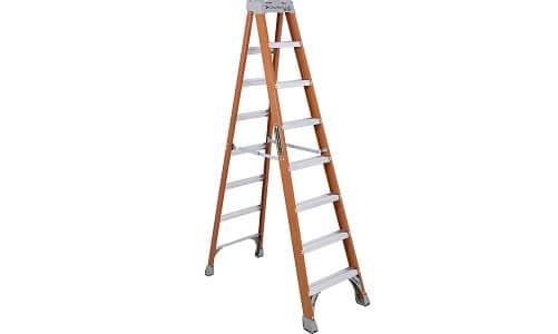 Louisville Ladder FS1508 300-Pound Duty Rating Fiberglass Step Ladder