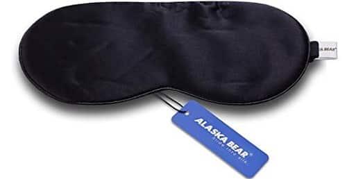 Alaska Bear Natural Silk Sleep Mask