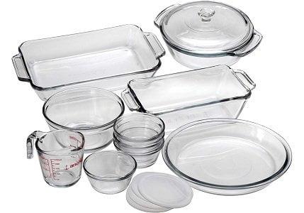 Anchor Hocking Oven Basics 15-Piece Glass Bakeware Set
